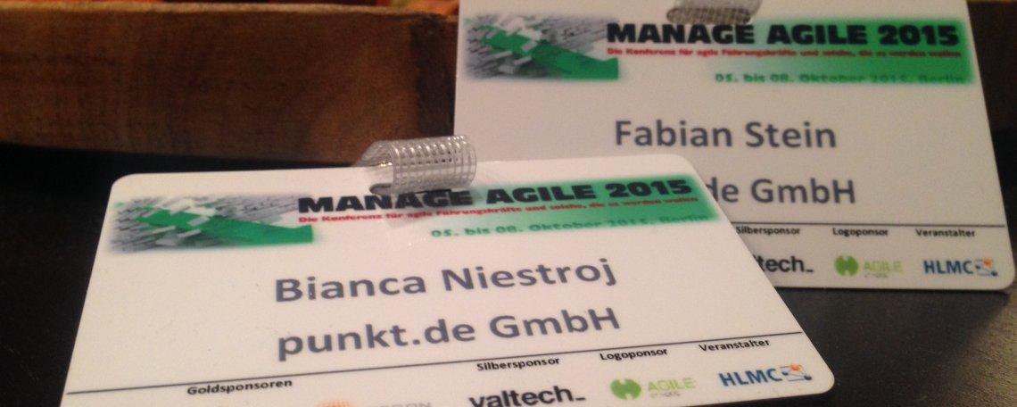 Manage Agile 2015 - ein kleiner Rückblick