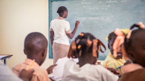 Schule in Haiti
