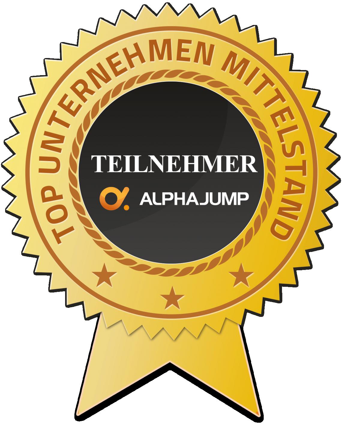 punkt.de belegt den 6ten Platz beim AlphaJUMP Wettbewerb zum coolsten IT-Praktikum 2016