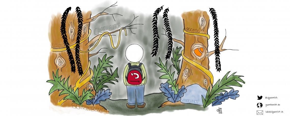 Willkommen im Dschungel: TYPO3 Backend-Berechtigungen