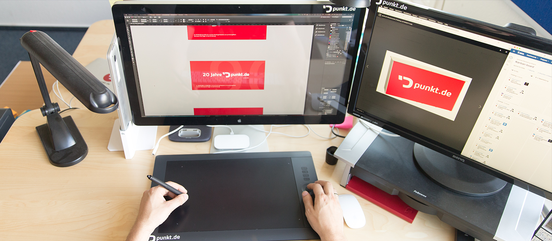 Freie GerätewahlOb Mac, Windows oder Linux, ob Maus oder Trackball. Bei uns kann jeder seine Arbeitsumgebung selbst gestalten.
