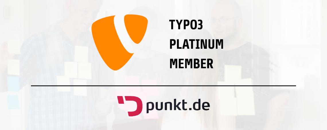 punkt.de ist TYPO3 Platinum Member