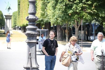 Andreas Wolf in Paris