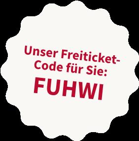 Freiticketcode für den DIGITAL FUTUREcongress: FUHWI