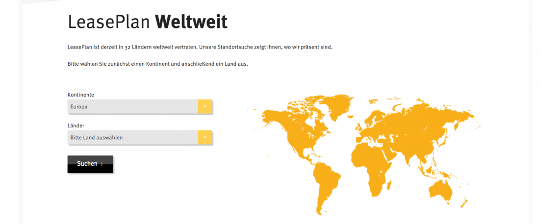 Responsive Design - Ein dynamischer Webauftritt für LeasePlan Deutschland