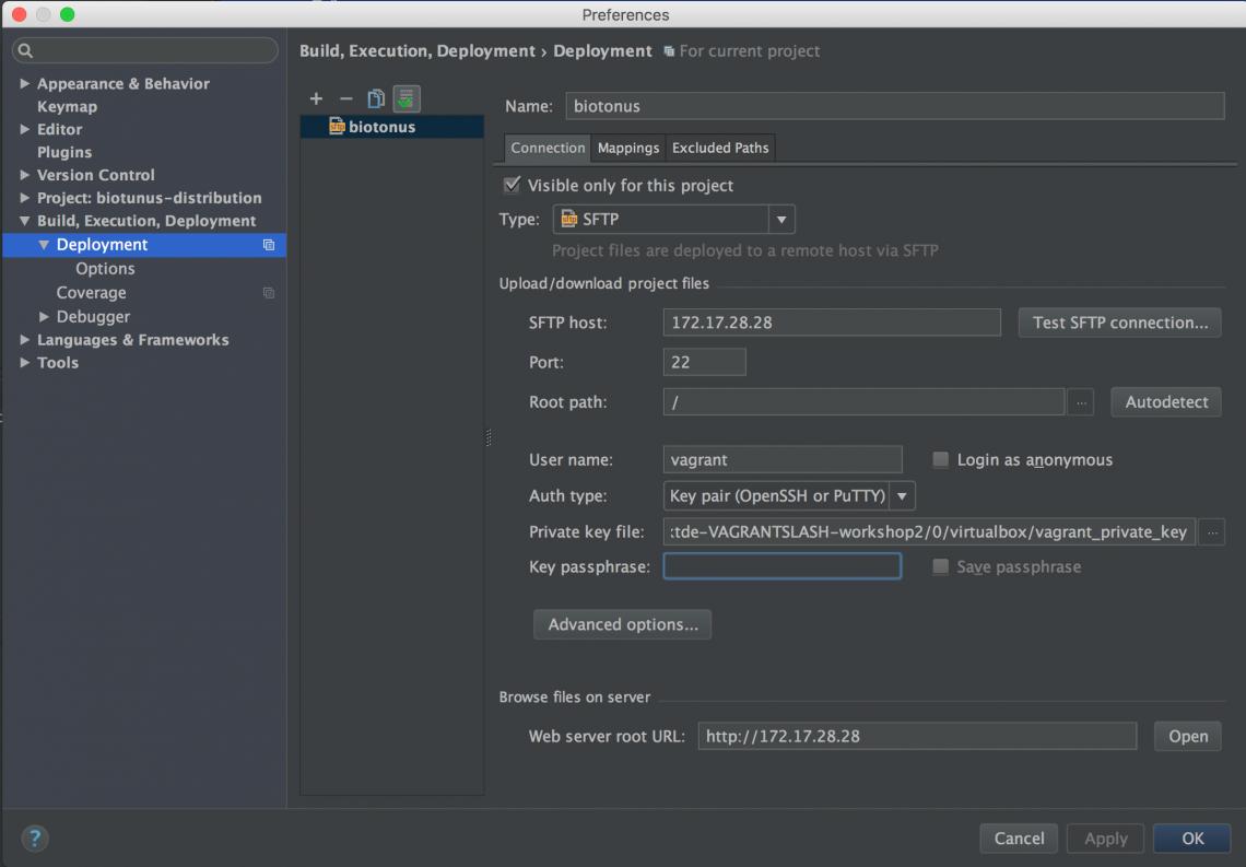 Screenshot der Eingabe für den Zugriff auf die Workshopbox
