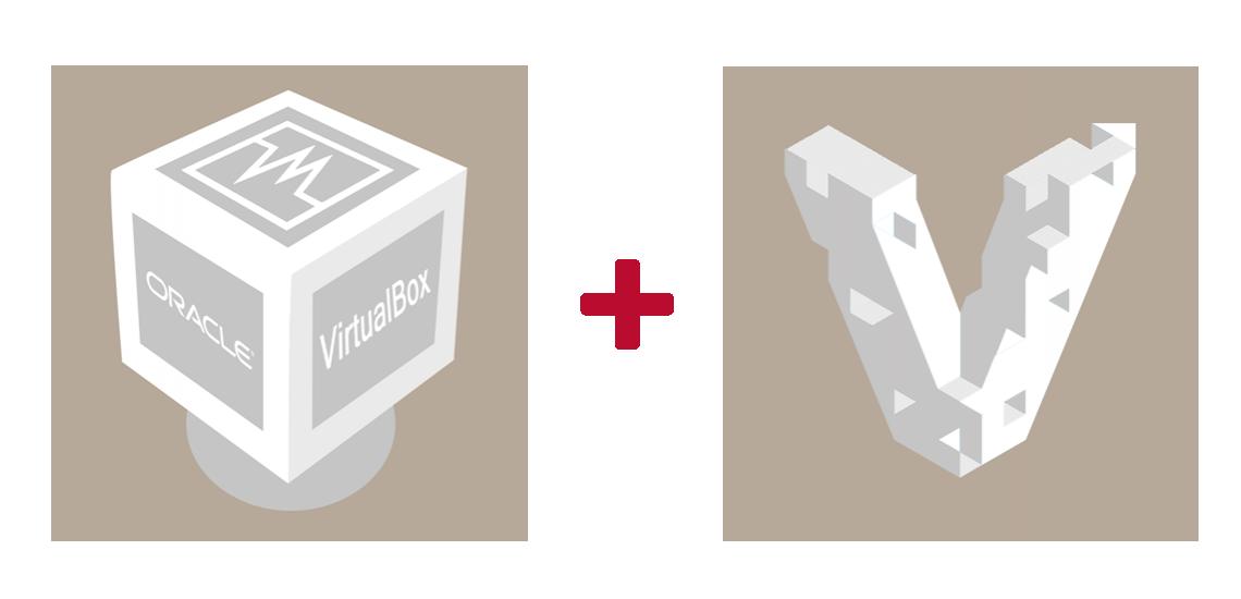 Grafische Darstellung von VirtualBox und Vagrant