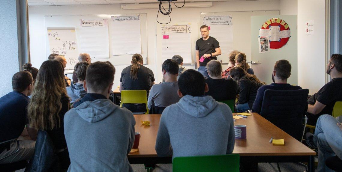 Workshop zu den neuen Führungsgremien