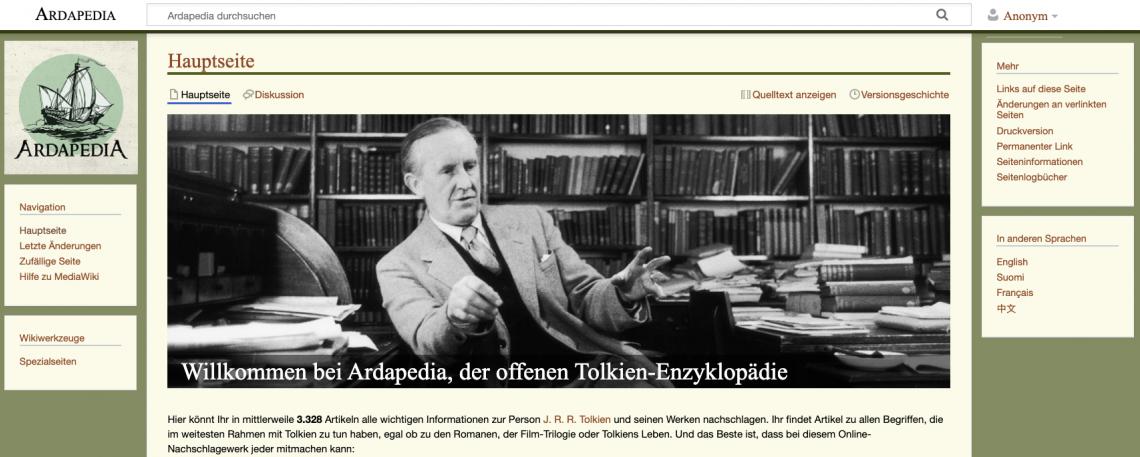 Hosting und Sponsoring der Ardapedia durch punkt.de