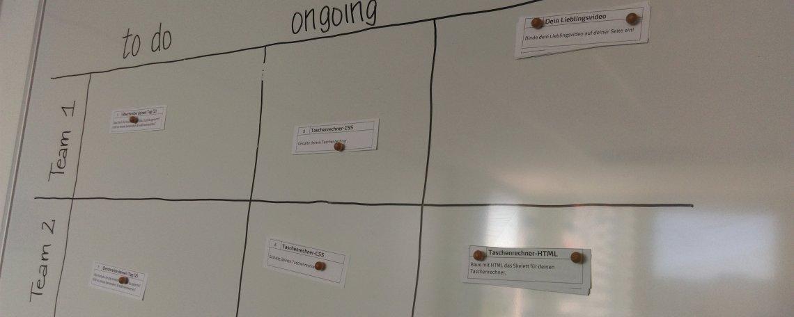 Früh übt sich – informatikBOGY Praktikanten bei punkt.de