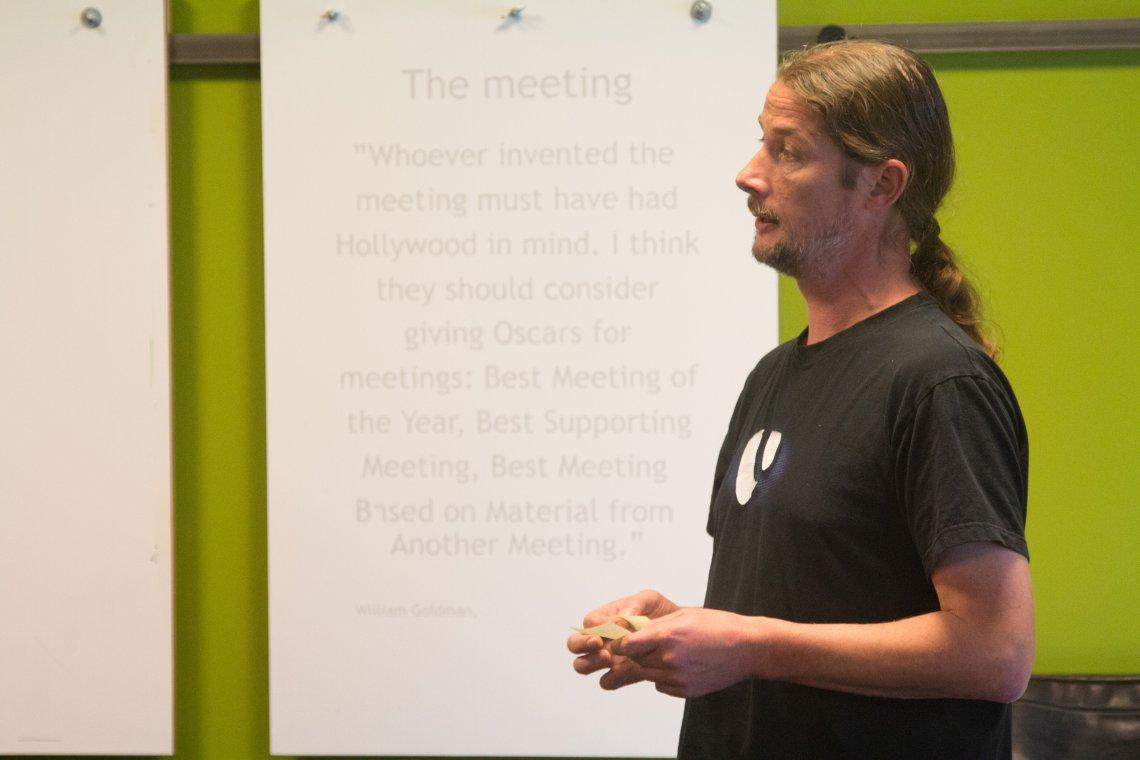Patrick Utrecht präsentiert