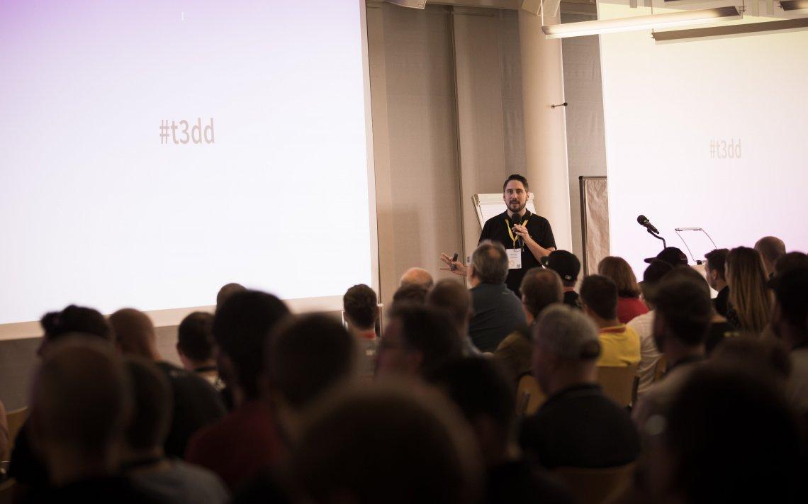 Fabian Stein eröffnet die TYPO3 Developer Days